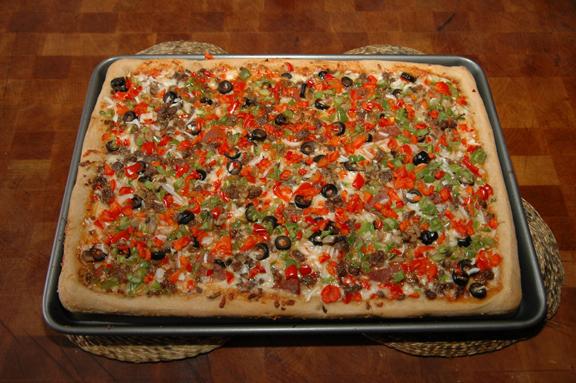 Delicious Looking Pizza a Delicious Looking Pizza Pie